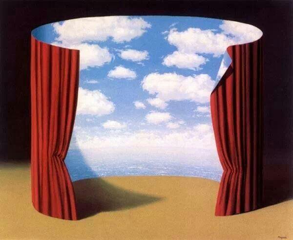 René Magritte. Les Mémoires d'un saint, 1960. The Menil Collection, Houston