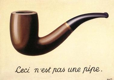 René Magritte. La Trahison des images, 1929. LACMA, Los Ángeles