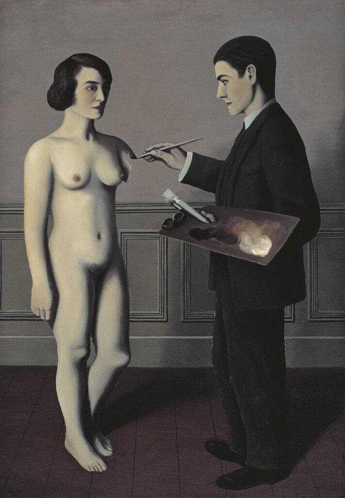 René Magritte. Tentativa de lo imposible, 1928. Toyota Municipal Museum of Art, Toyota. Courtesy Ludion Publishers. © René Magritte, VEGAP, Madrid, 2021