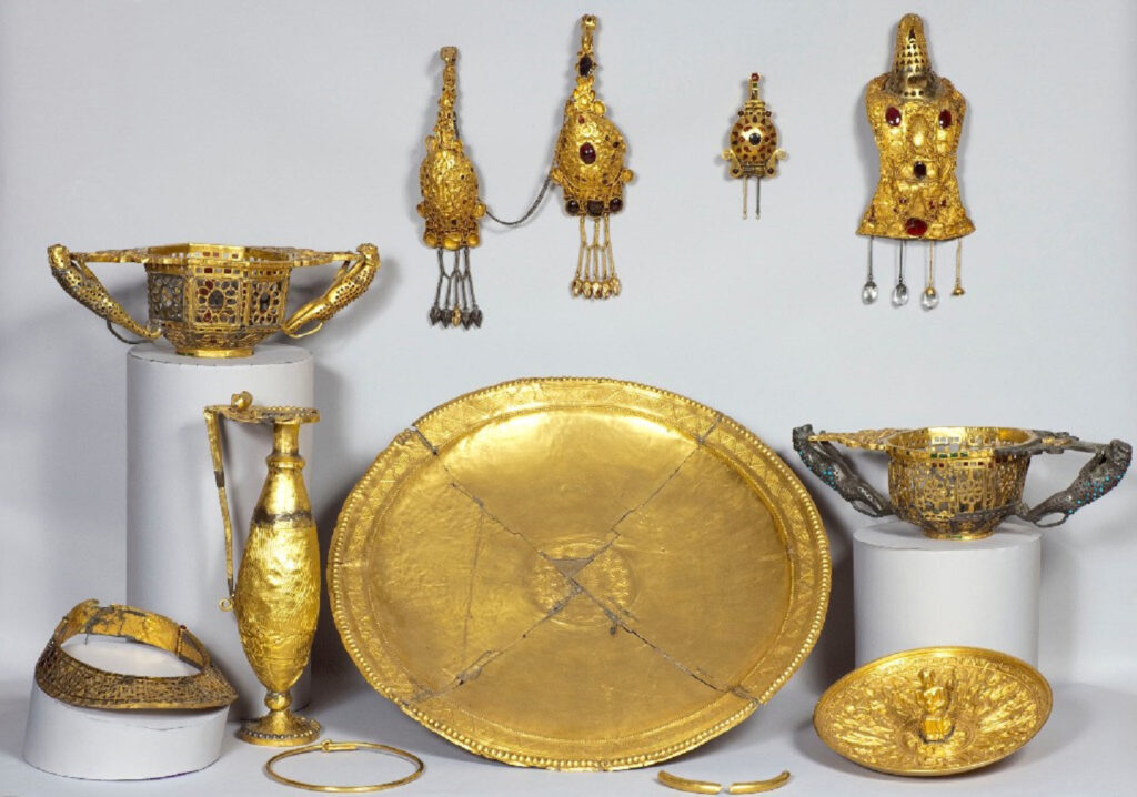 Tesoro de Pietroasa. Antigüedad Tardía. Siglo V d.C.