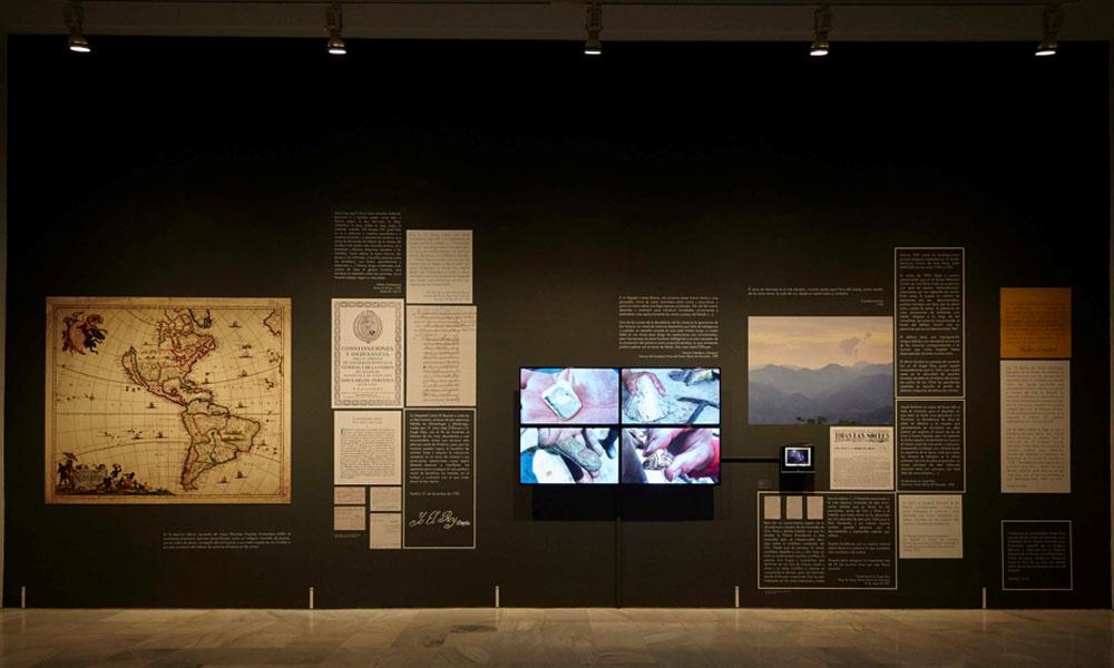 """Vista de la exposición """"Mapa Teatro. De los dementes, ò faltos de juicio"""" en el Museo Reina Sofía. Fotografía: Joaquín Cortés/ Román Lores"""