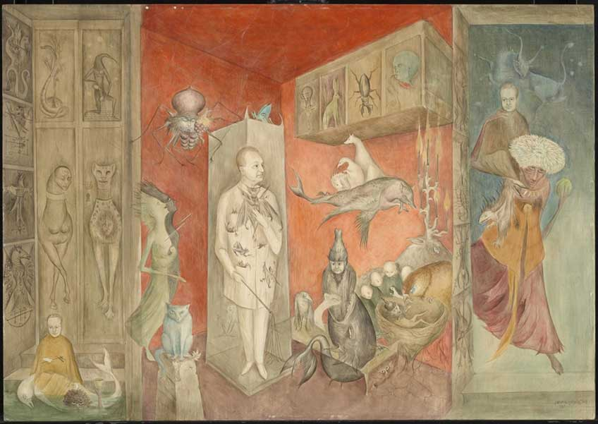 Leonora Carrington Transferencia, 1963 Tate Modern, Londres. Inv. L04019 © Leonora Carrington, VEGAP, Madrid, 2019
