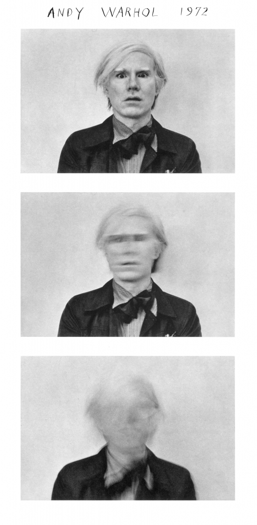 Duane Michals. Andy Warhol, 1973. Duane Michals. Cortesía de DC Moore Gallery, Nueva York © Duane Michals