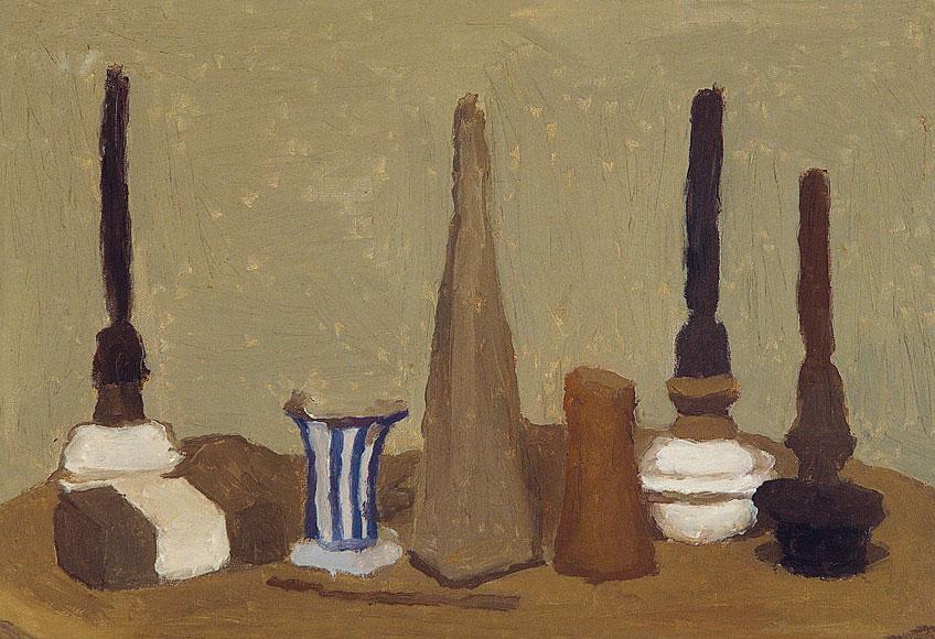 Giorgio Morandi. Natura morta, 1937-1938. Musei Civici Fiorentini - Collezioni del Novecento, Florencia © Giorgio Morandi, VEGAP, Madrid, 2021