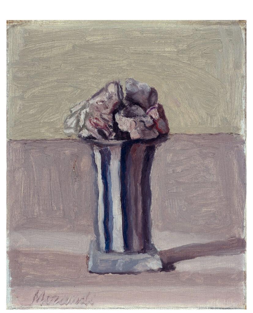 Giorgio Morandi. Fiori, 1950. Colección particular. Cortesía Massimo Vecchia. © Giorgio Morandi, VEGAP, Madrid, 2021