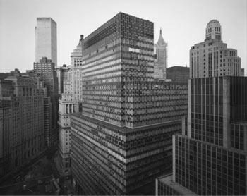 Exposición de Nicholas Nixon en Fundación MAPFRE. Vista de Battery Plaza, Nueva York, 1975