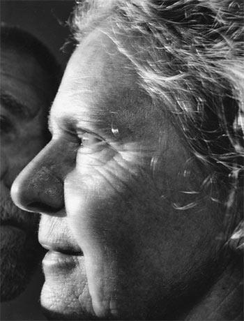 Exposición de Nicholas Nixon en Fundación MAPFRE. Bebe y yo, Savignac de Miremont, Francia 2011