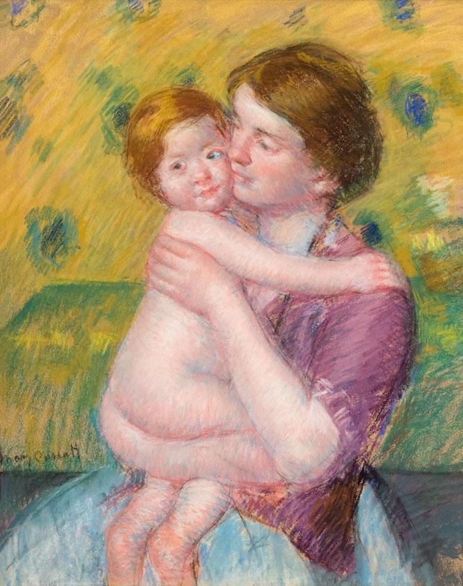 Mary Cassatt. Madre e hijo, 1900-1914. High Museum of Art, Atlanta. Compra con fondos de la Forward Arts Foundation y la familia Robert D. Fowler