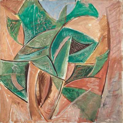Pablo Picasso. L´ Arbre, 1907. Musée national Picasso-Paris. © Sucesión Pablo Picasso, VEGAP, Madrid, 2018