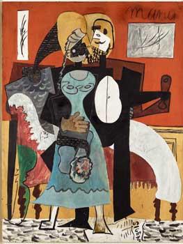 Pablo Picasso. Les Amoureux, 1919. Musée national Picasso-Paris, dación Pablo Picasso, 1979. © Sucesión Pablo Picasso, VEGAP, Madrid, 2018