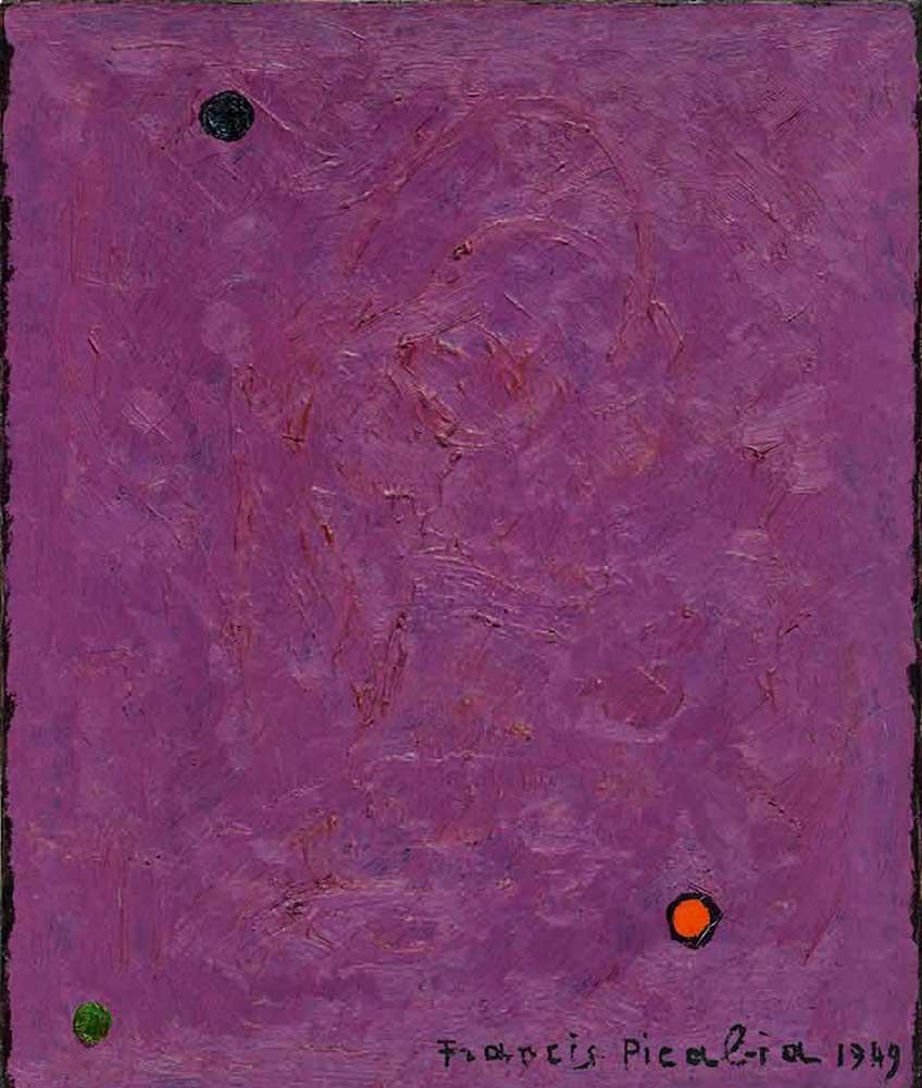 Francis Picabia. Points, 1949. Colección particular, cortesía Galerie Michael Werner, Märkisch Wilmersdorf, Colonia y Nueva York. © Francis Picabia, VEGAP, Madrid, 2018