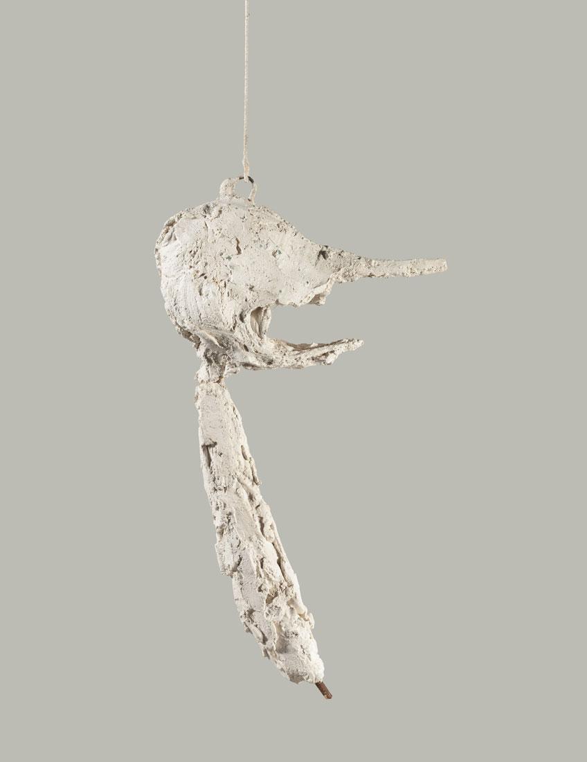 Alberto Giacometti. La nariz, 1947. Fondation Giacometti, París Foto: Fondation Giacometti, París © Alberto Giacometti Estate / VEGAP, 2020