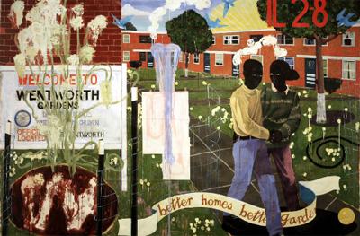 Kerry James Marshall. Better Homes, Better Gardens, 1994