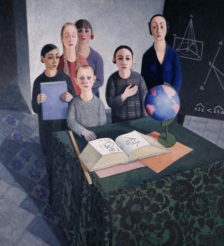 Felice Casorati. Gli scolari, 1927-1928