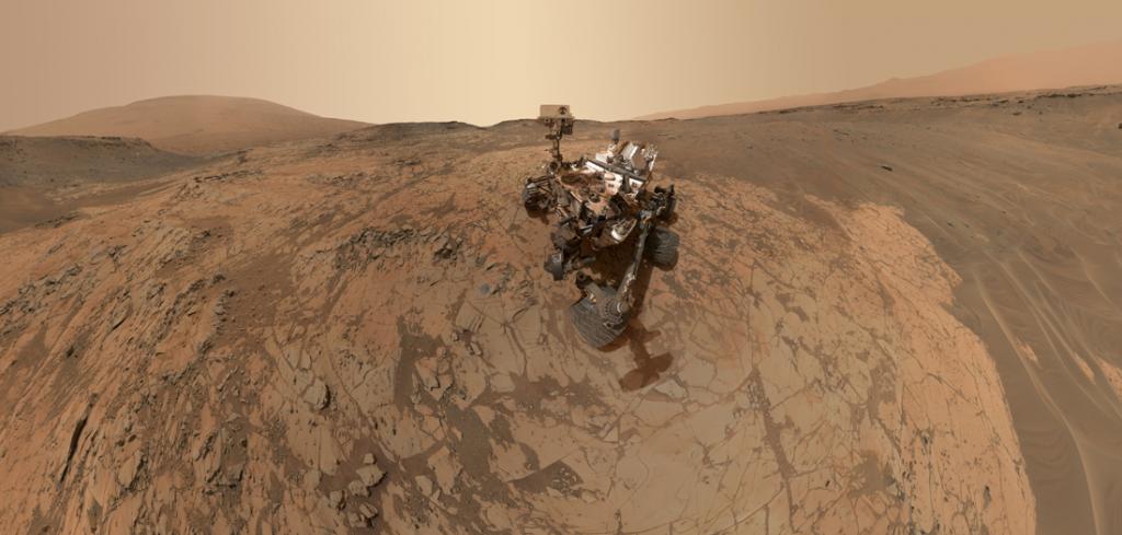 Marte según el Curiosity Rover