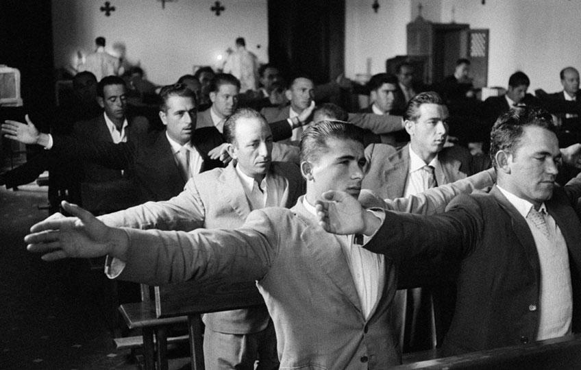 Ramón Masats. Cursillos de cristiandad. Toledo, 1957