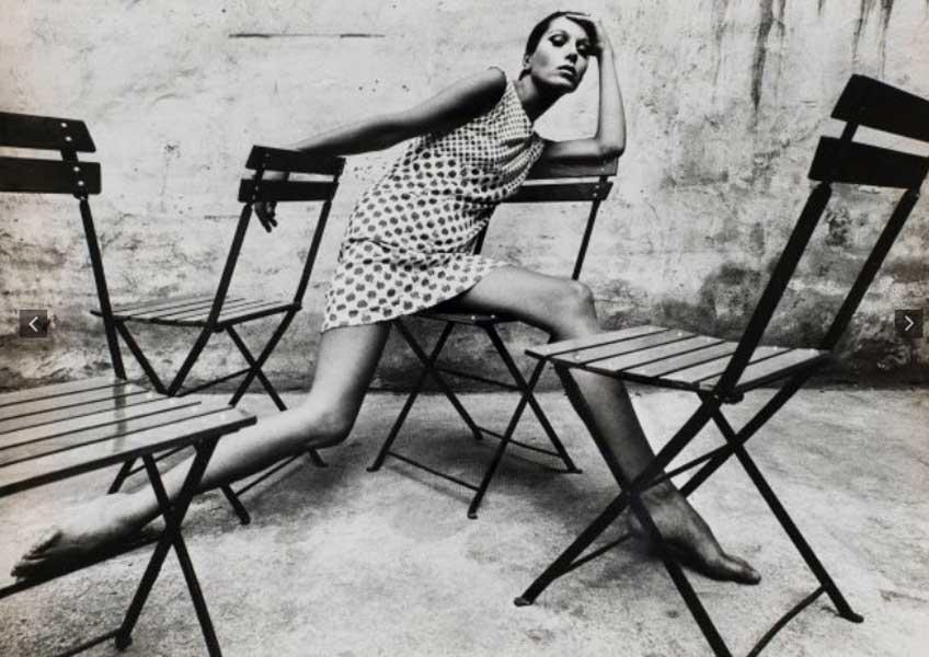 Oriol Maspons. Retrato de Elsa Peretti, 1966. Museu Nacional d'Art de Catalunya, dipòsit de l'artista, 2011 © Archivo fotográfico Oriol Maspons, VEGAP, Barcelona, 2019