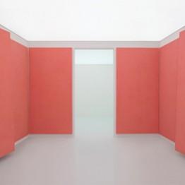 Ettore Spalletti, Stanza, rosso porpora, 2010