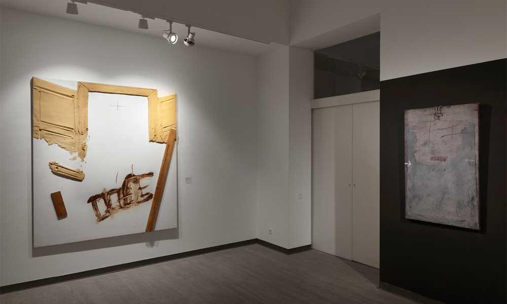 """""""Tàpies hoy"""" en la Galería Mayoral"""