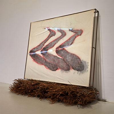 Mario Merz. Las piernas, 1978