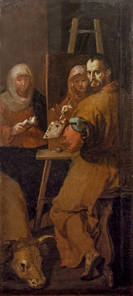 Francisco Ribalta. San Lucas, 1625-27. Valencia, Museo de Bellas Artes