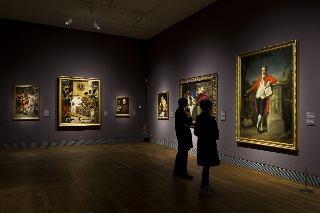 """Imagen de la exposición """"Metapintura. Un viaje a la idea del arte"""". Foto © Museo Nacional del Prado"""