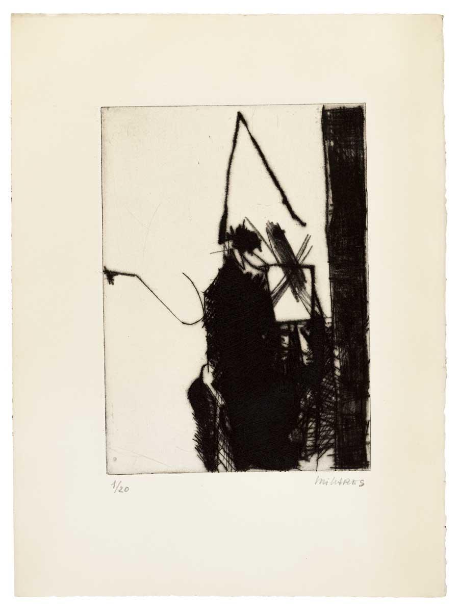 Manolo Millares. Auto de fe, 1967