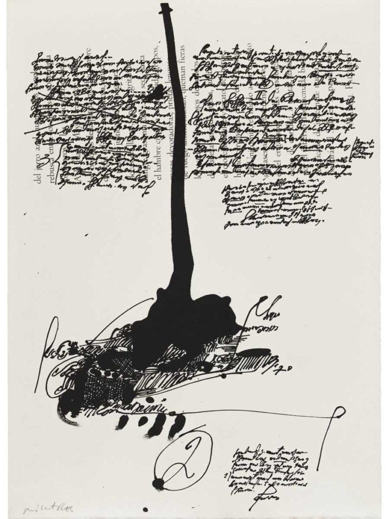 Manolo Millares. Descubrimientos-Millares 1671, 1971