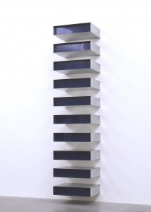 Obras y autores minimalistas. Donald Judd. Untitled, 1980