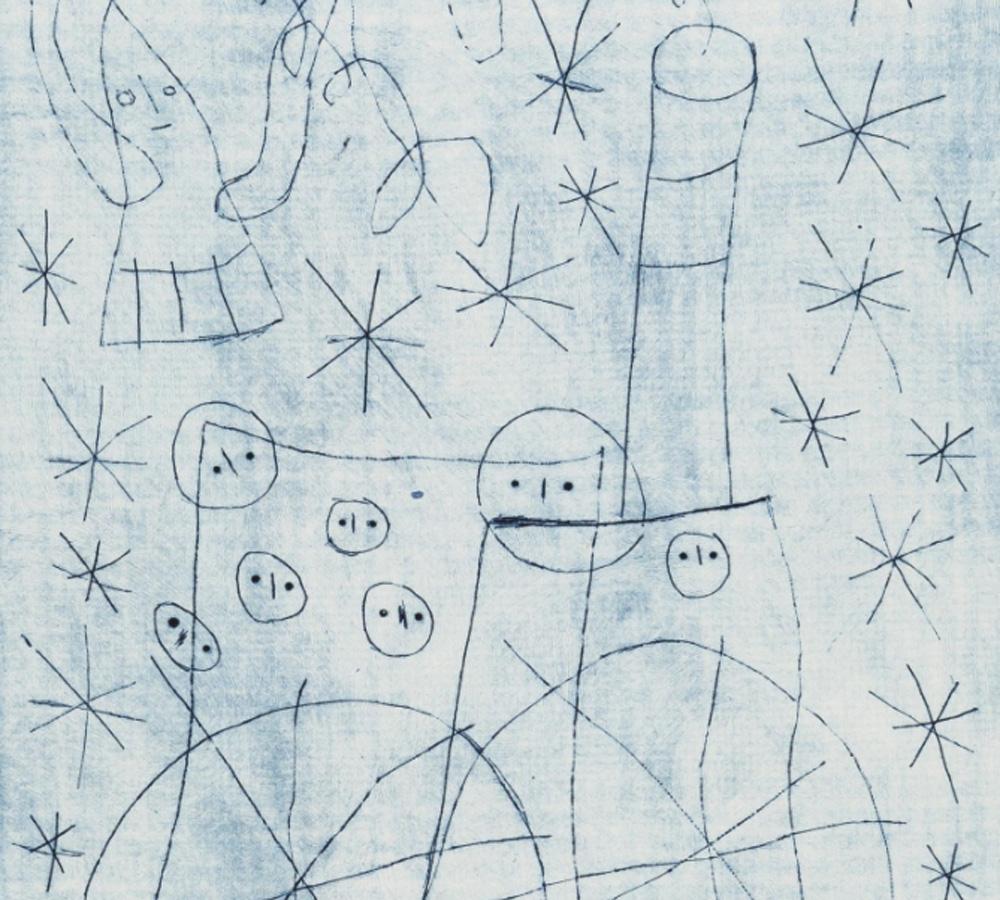 Joan Miró. Noël au chemin de fer, 1959. Musée Rolin, Autun ©Xavier Spertini