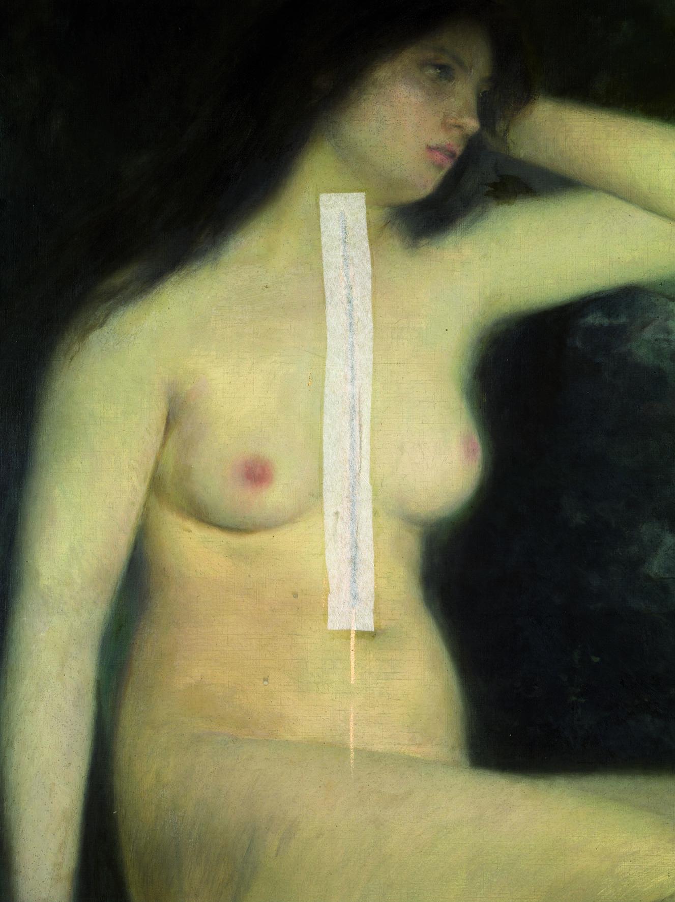 Joan Brull, Calipso, c.1896. © Museu Nacional d'art de Catalunya. Foto: Ferran Gimenez