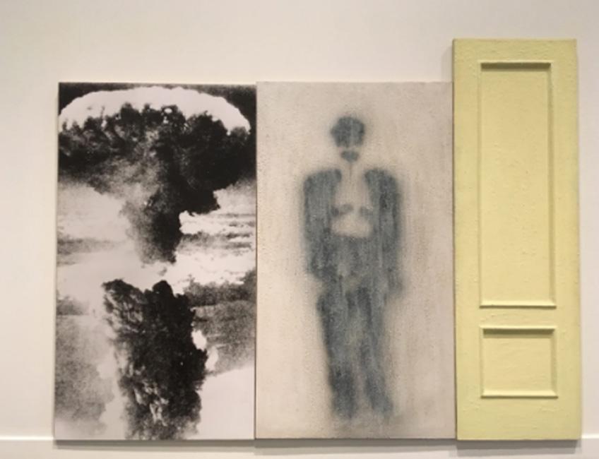 """Pedro G. Romero. Sodoma y Gomorra, 1989. Colección """"la Caixa"""" de arte contemporáneo"""