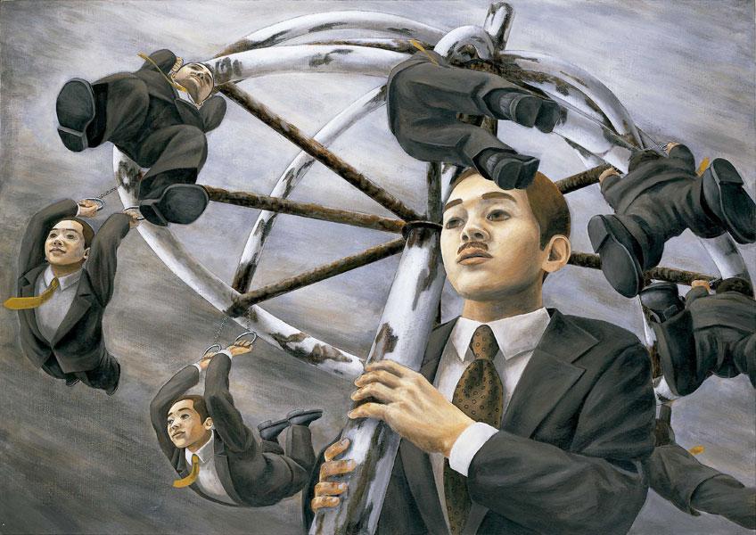 Tetsuya Ishida. Bajo el paraguas del presidente de la Compañía, 1996