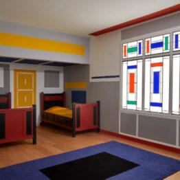 Mondrian, a la abstracción por los árboles