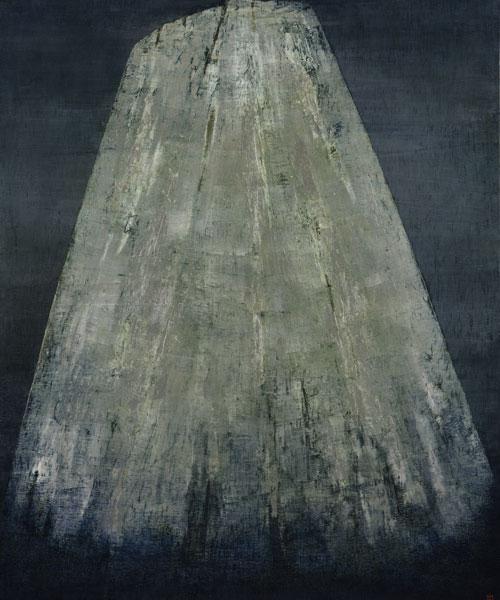 Anna-Eva Bergman. La gran montaña de plata nº4, 1957