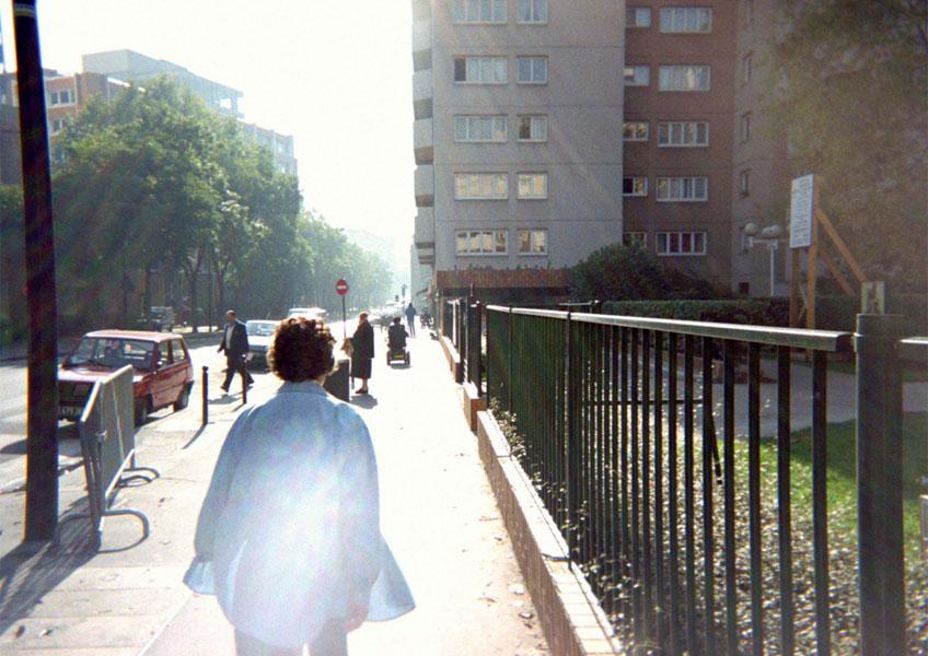 Marc Pataut. La luz apaga todo (Calle de Flandre), París. La Rue, 1996