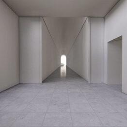 Recreación de las futuras salas de la Planta 0 del Edificio Sabatini
