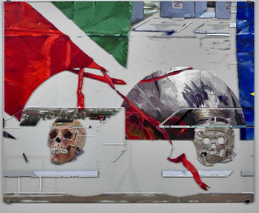 Dierk Schmidt. Untitled (Human Remains in Berlín), 2014-2015. Kow Berlín