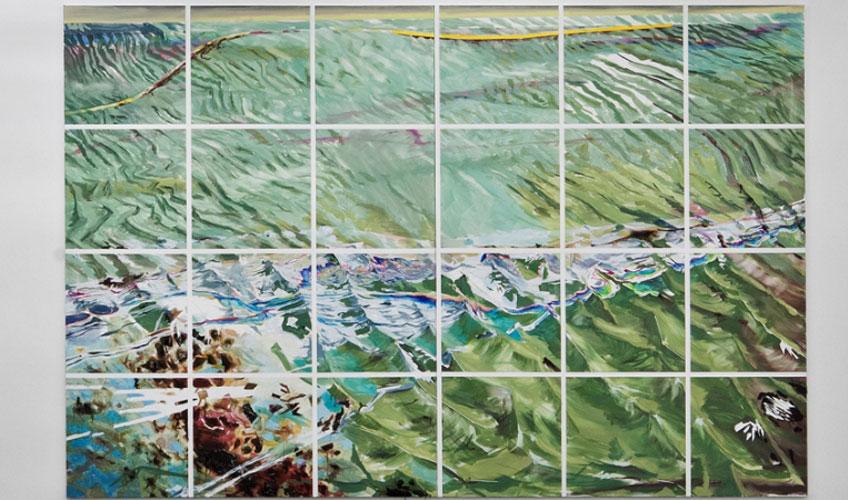 Dierk Schmidt. Seascape, 2011