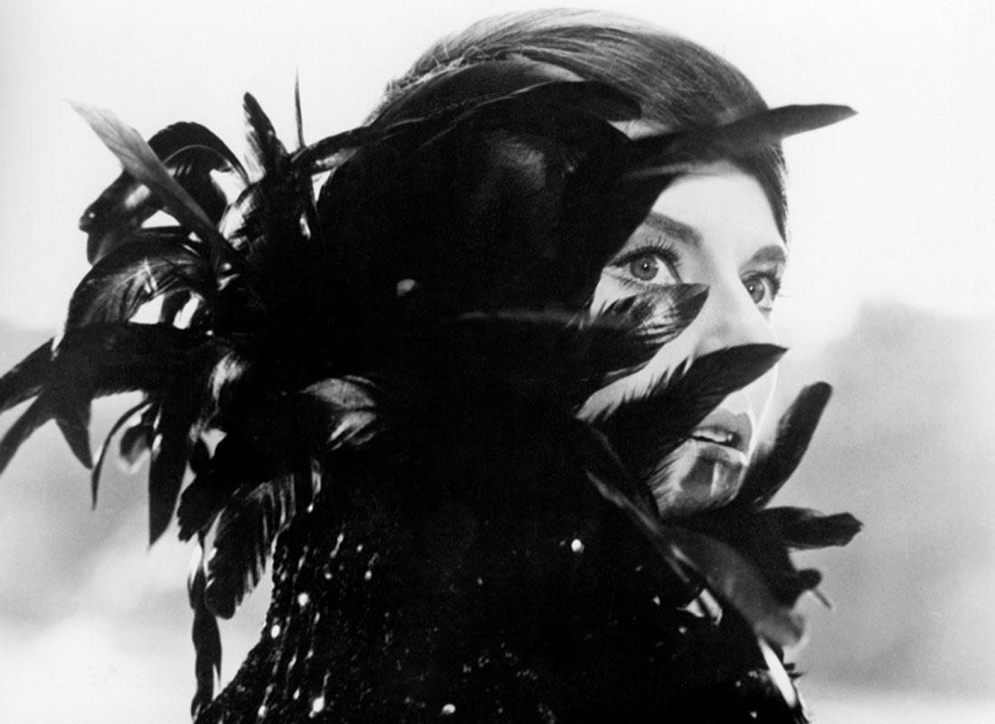 Delphine Seyrig en El año pasado en Marienbad, 1961
