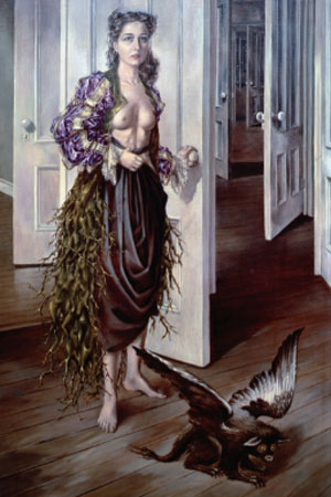 Dorothea Tanning. Birthday, 1942. Philadelphia Museum of Art