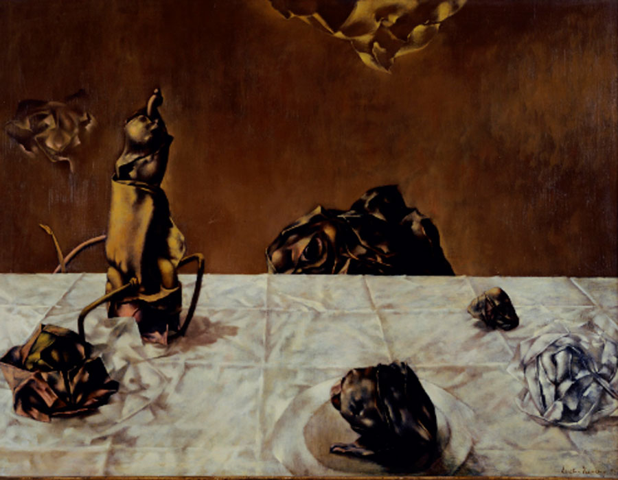 Dorothea Tanning. Some roses and their phantomes, 1952. Tate