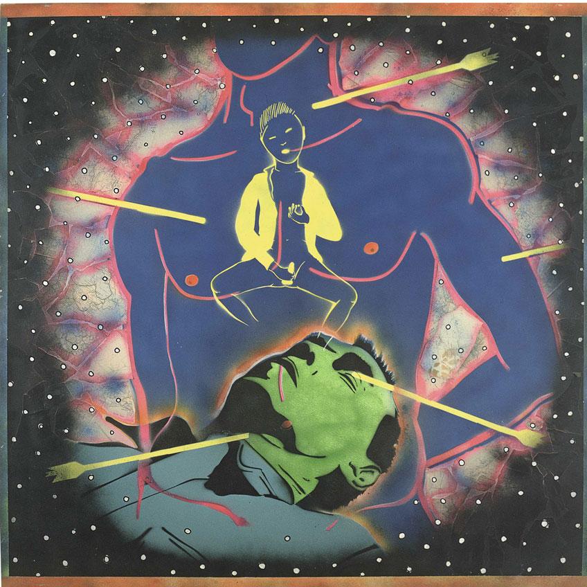 David Wojnarowicz. Peter Hujar Dreaming/Yukio Mishima: San Sebastian, 1982