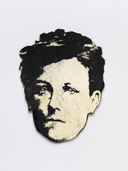 David Wojnarowicz. Rimbaud Mask, hacia 1978