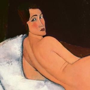 Amedeo Modigliani. Desnudo, 1917. Colección privada