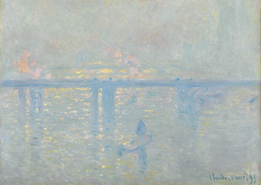 Claude Monet. El puente de Charing Cross, 1899. Colección Carmen Thyssen-Bornemisza