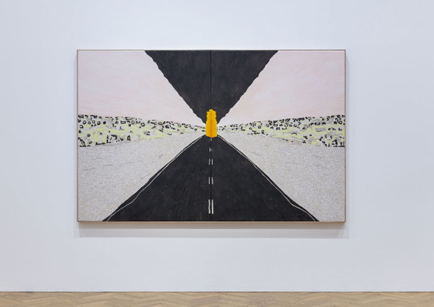 """William Monk. William Monk. Vista general de """"A Fool Through the Cloud"""" en la Pace Gallery de Londres"""