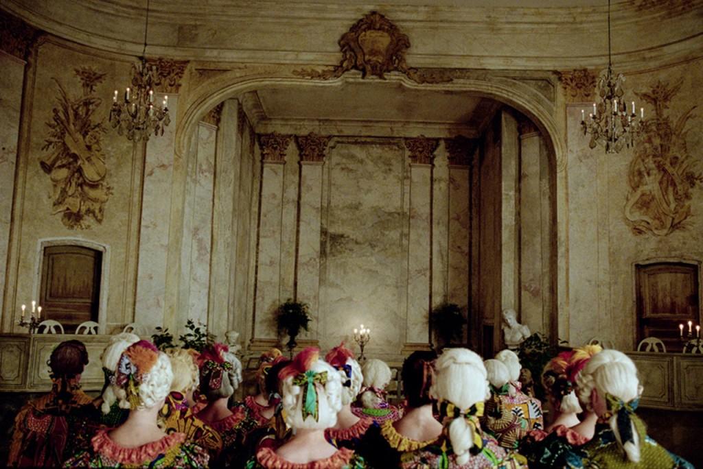 Yinka Shonibare, MBE. Un Ballo in Maschera (A Masked Ball), 2004