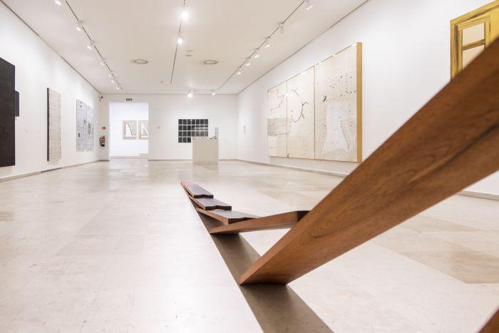 """Vista de """"Pintura: renovación permanente"""" en el Museo Patio Herreriano"""
