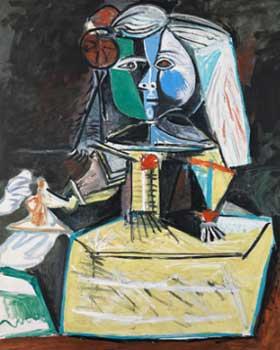 Pablo Picasso. Las Meninas (Infanta Margarita María), 1957. Museo Picasso Barcelona. Sucesión Pablo Picasso, VEGAP, Madrid 2018